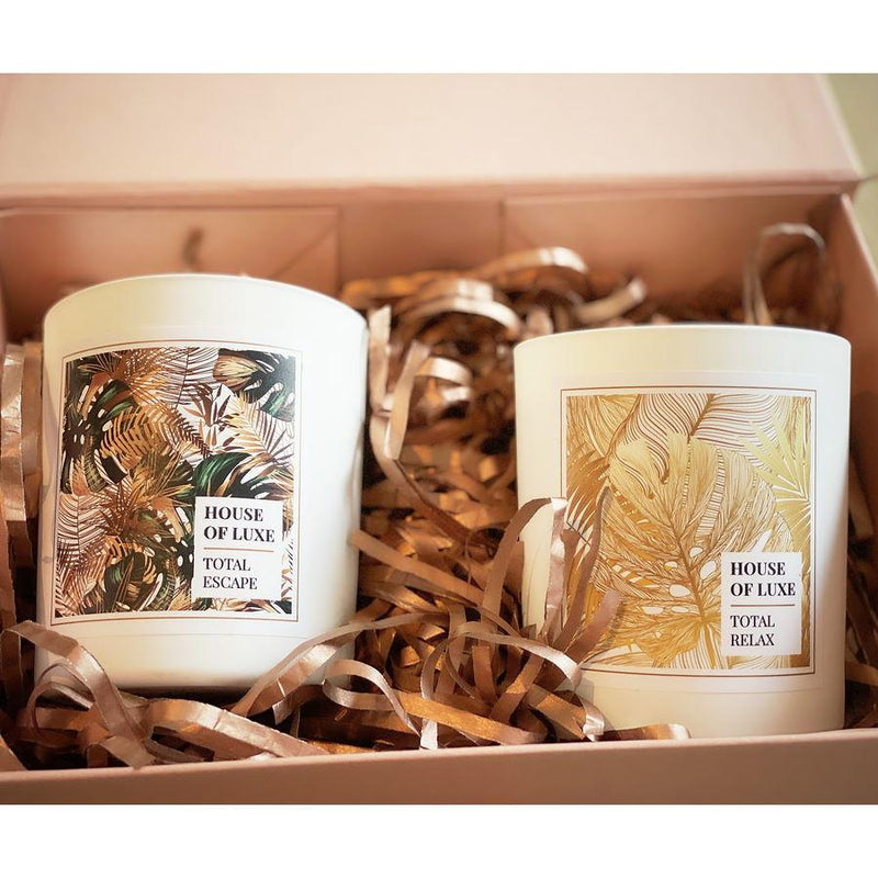 "House Of Luxe - House of Luxe ""Relax & Escape"" Aromatherapy Candle Gift Set"