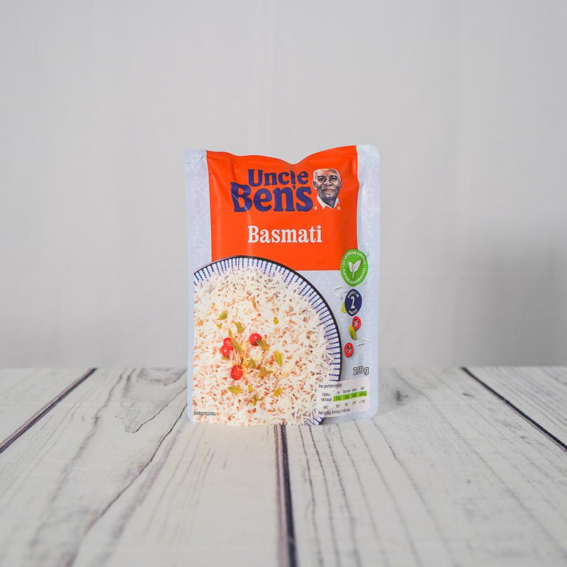 Essentials - Uncle Bens Express - Basmati Rice (250g)