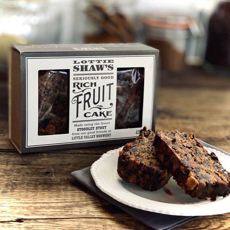 Lottie Shaw's - Rich Luxury Fruit Cake (420g)