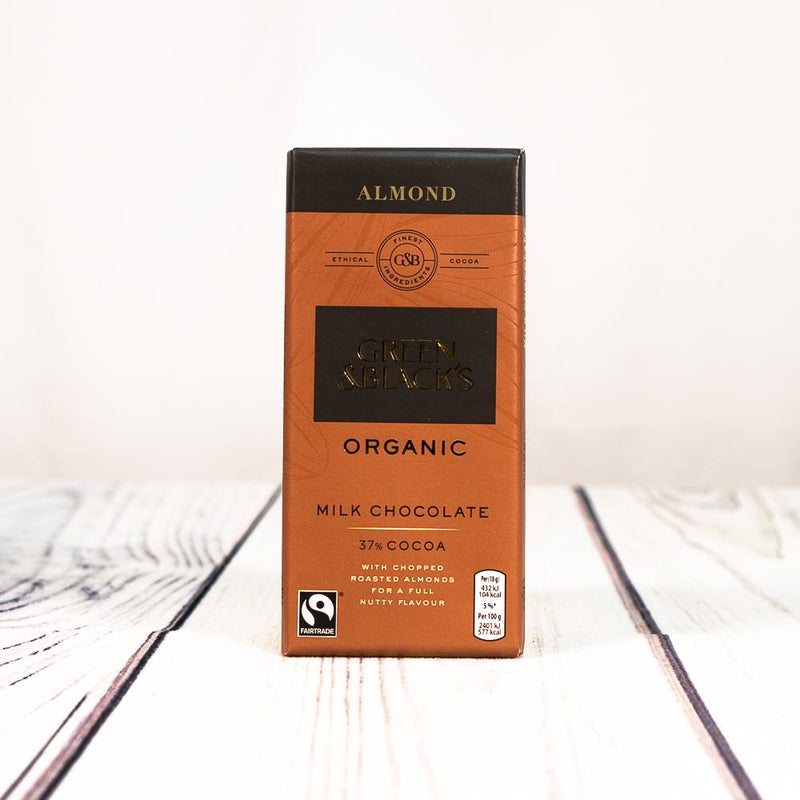 Arrow Fresh - Green & Black's Dark Chocolate With Ginger (Family Size)