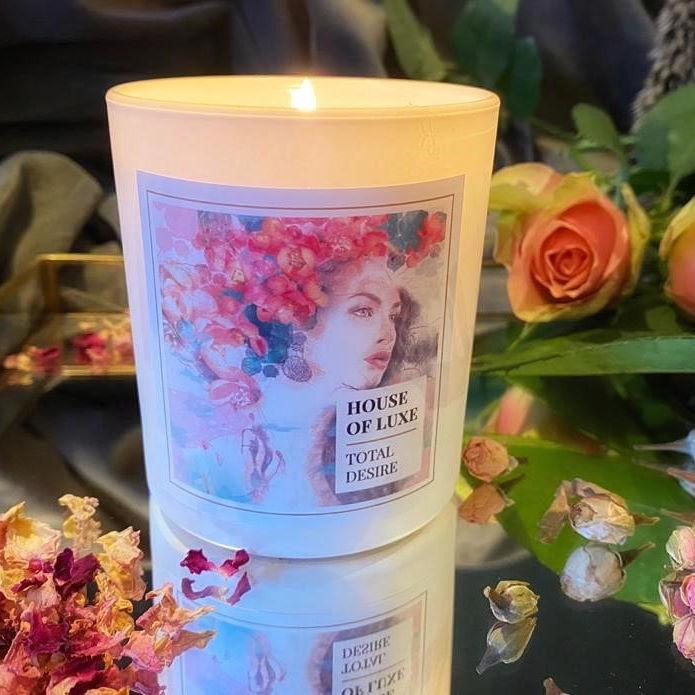 House Of Luxe - Total Desire - Luxury Aromatherapy Essential Oil Candle