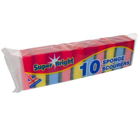 Essentials - Scourer Sponge (10 Pack)