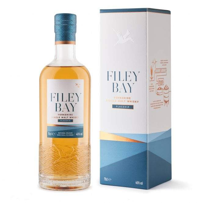 Spirit of Yorkshire Distillery - Yorkshire Single Malt Filey Bay Flagship Whiskey 70Cl