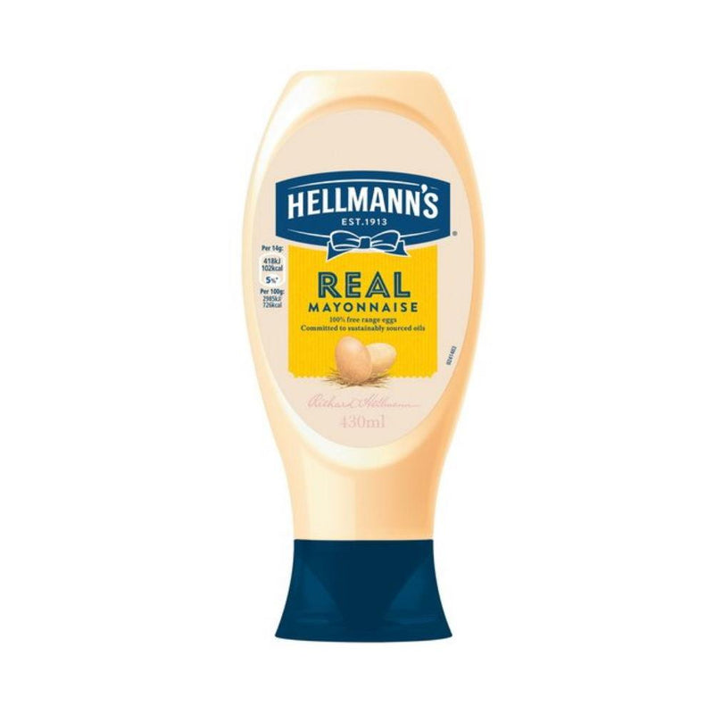 Essentials - Hellmann's Mayonnaise - Squeezy (430ml)