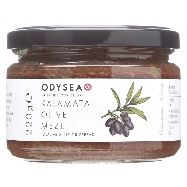 Odysea - Odysea Kalamata Olive Meze with Capers (220g)