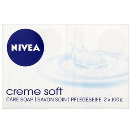 Nivea - Nivea Creme Soft Care Soap Bar (2 Pack)