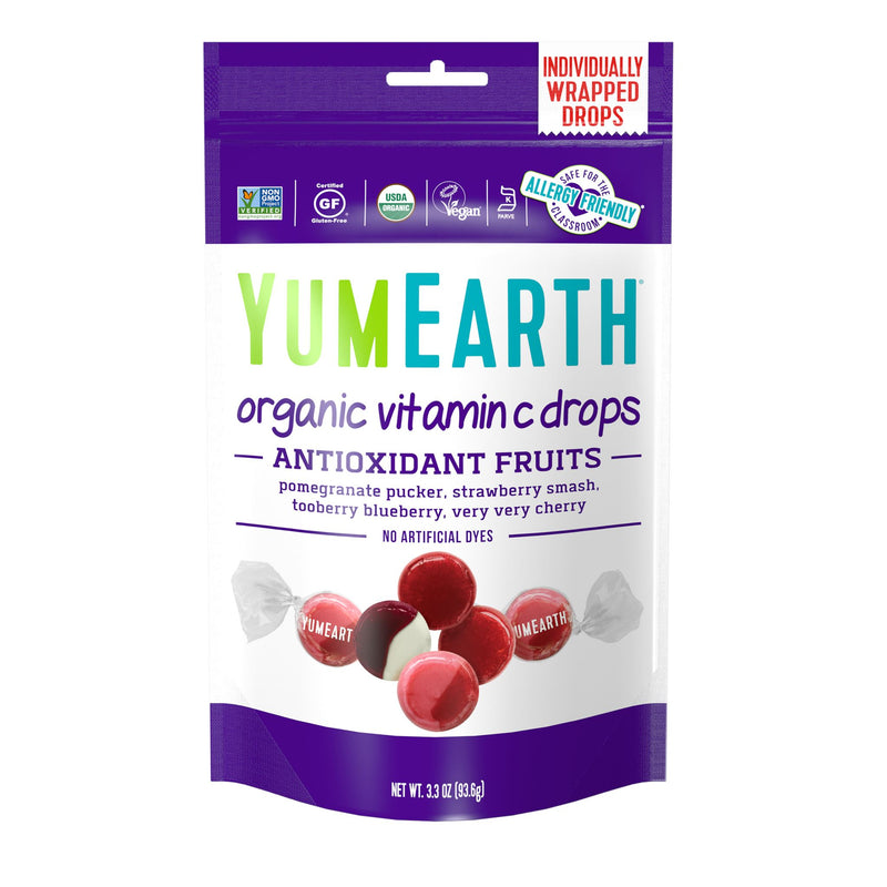 Yum Earth - Organic Vitamin Fruit Drops (94g)