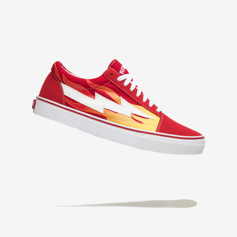 Revenge x Storm Red Flame x Suede