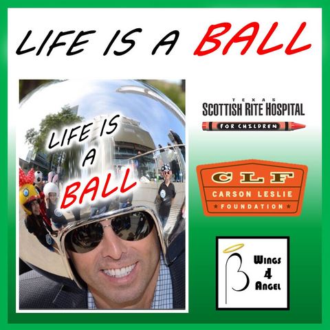 Life Is A Ball Campaign<br />(Make a Donation)