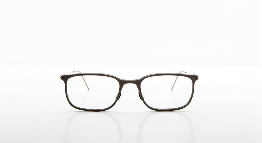 Annu Rectangle 01 - L-Brille-Annu-Khaki / Raw-Schönhelden