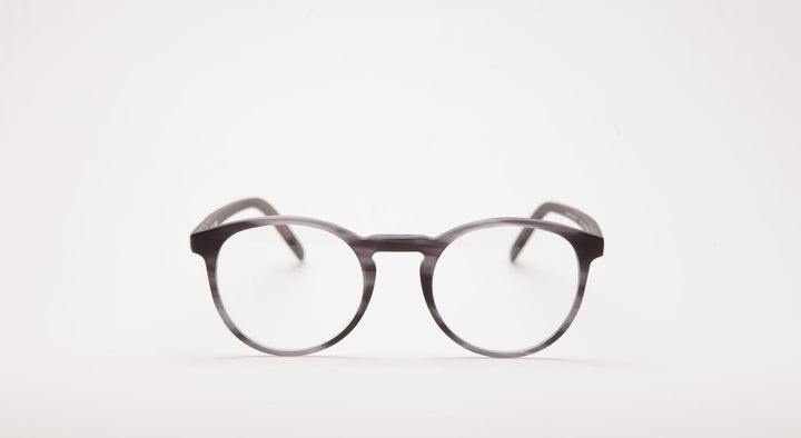 DICK MOBY Oxford-Brille-Dick Moby-matte grey leaves-50-22-Schönhelden