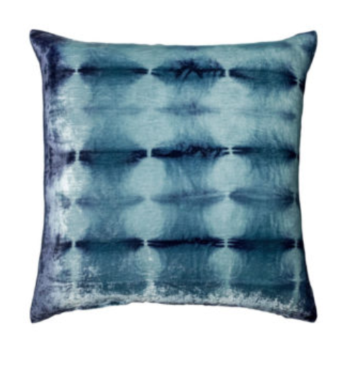 RORSCHACH VELVET BLUEBERRY PILLOW