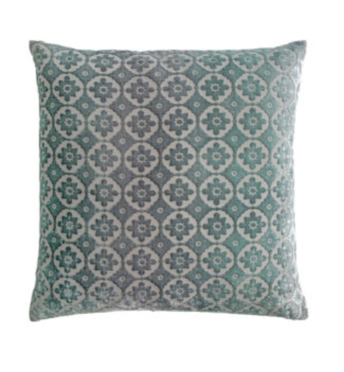 SMALL MORROCAN VELVET JADE PILLOW