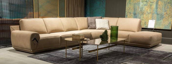 ARTU LEATHER SECTIONAL