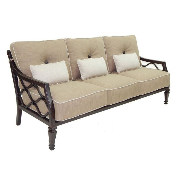 VILLA BIANCA CUSHIONED SOFA