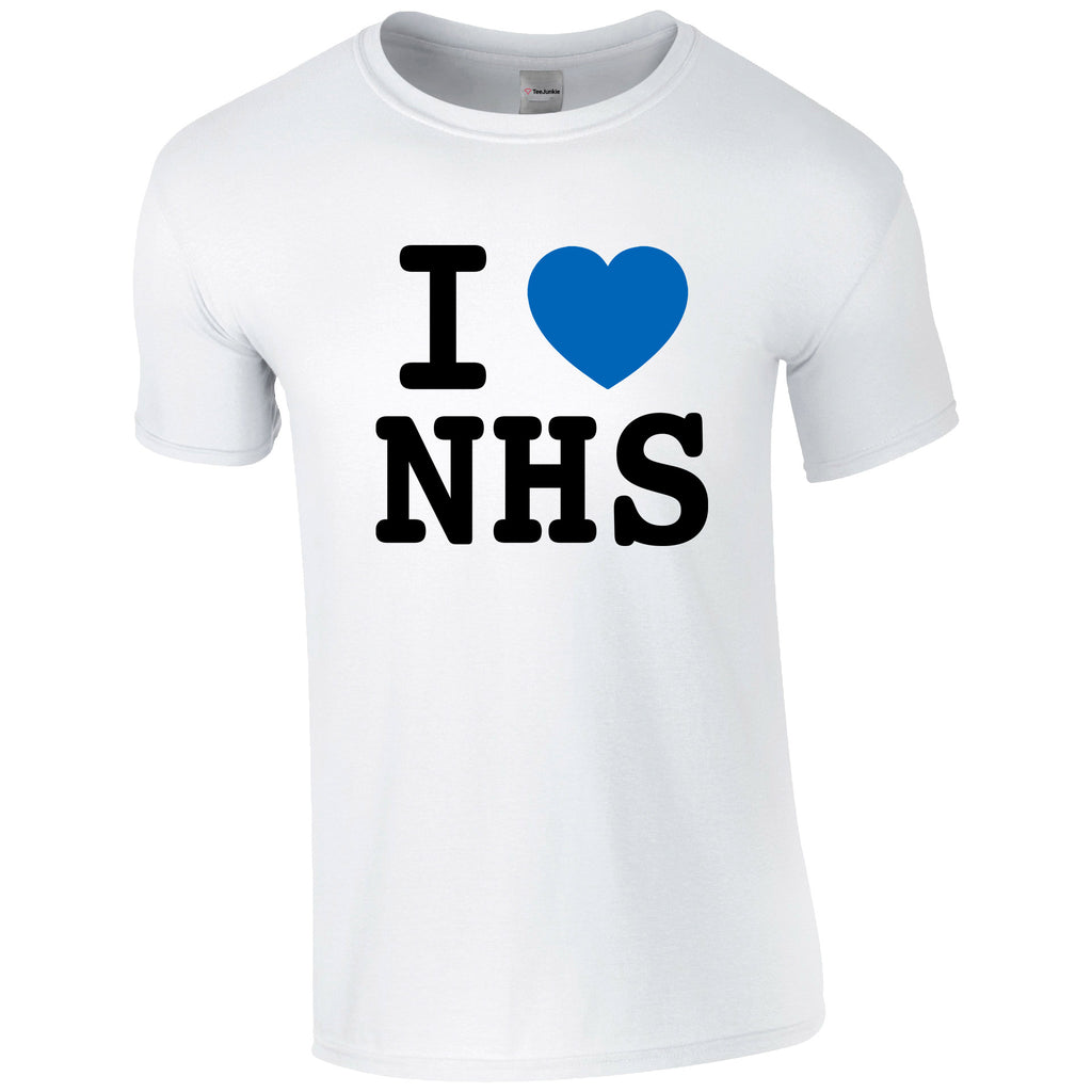 I 💙NHS Classic T-Shirt - TeeJunkie - T-Shirts for Good Causes