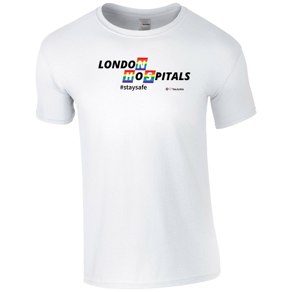 London NHS Rainbow Design T-Shirt - TeeJunkie - T-Shirts for Good Causes