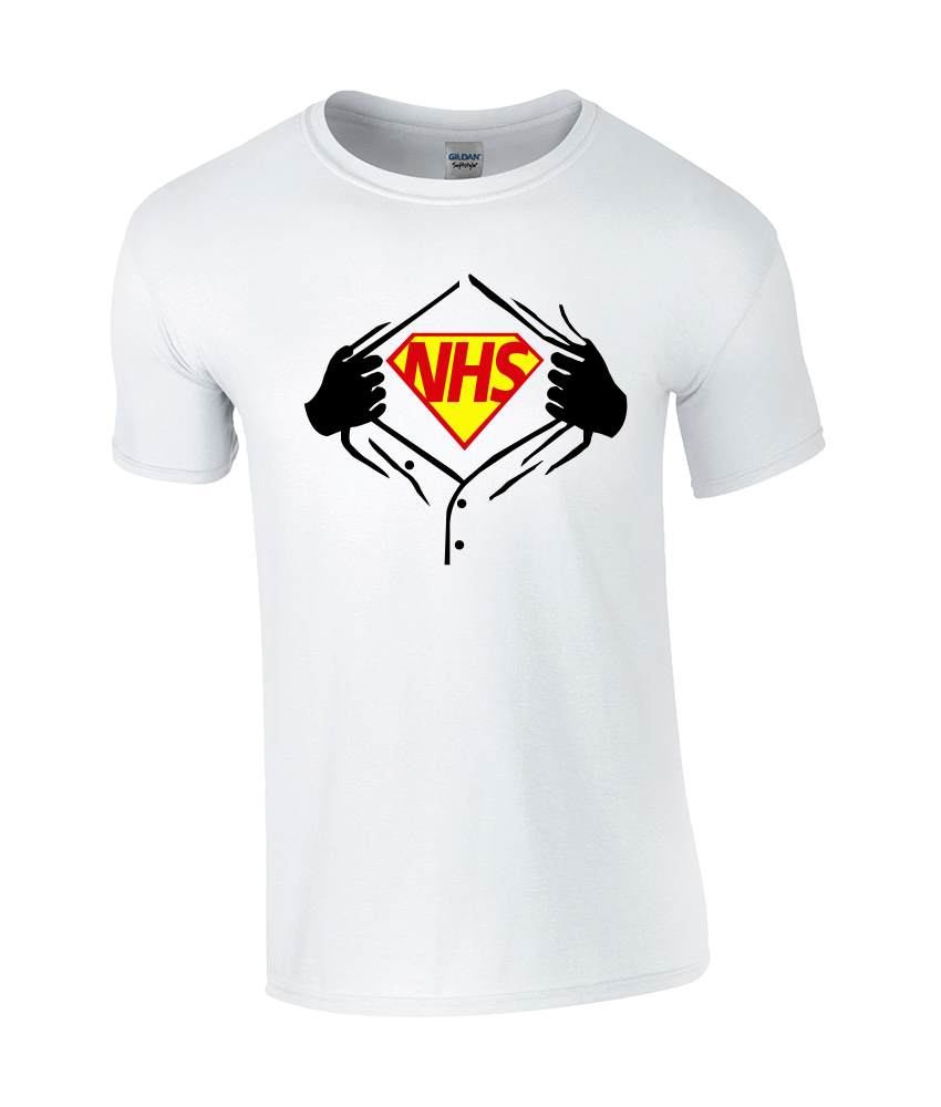 NHS Superhero Children's Classic T-Shirt - TeeJunkie - T-Shirts for Good Causes