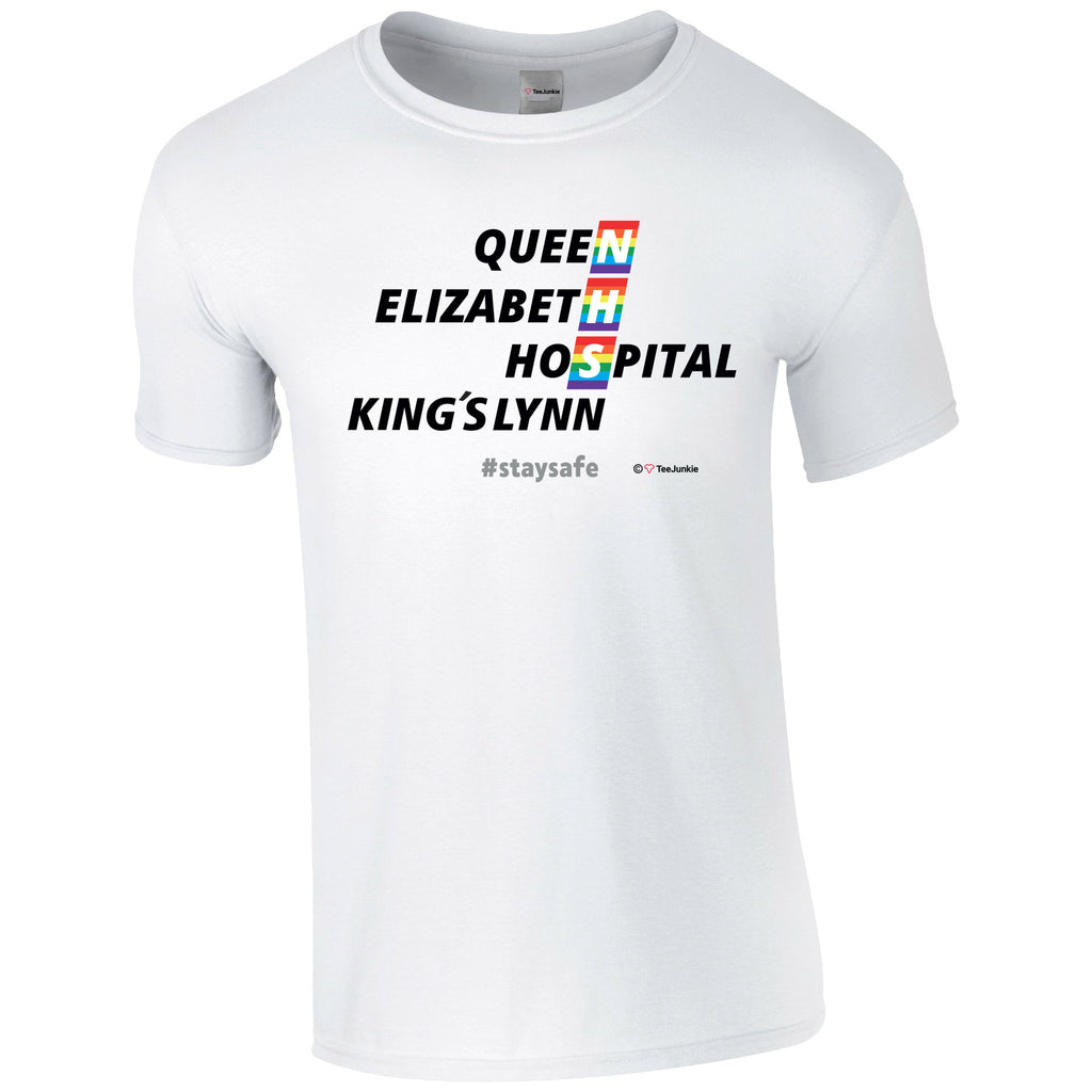 Queen Elizabeth Hospital NHS T-Shirt - TeeJunkie - T-Shirts for Good Causes