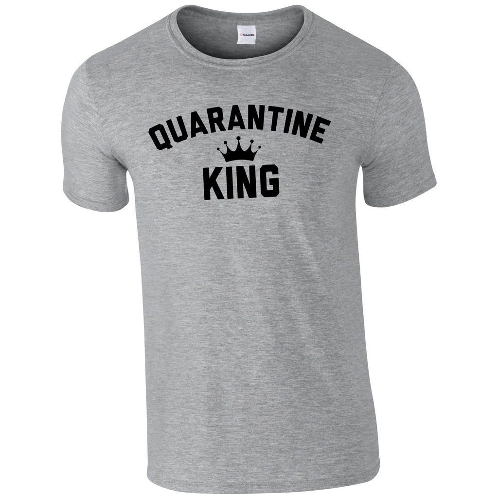 Quarantine King Classic T-Shirt - TeeJunkie - T-Shirts for Good Causes