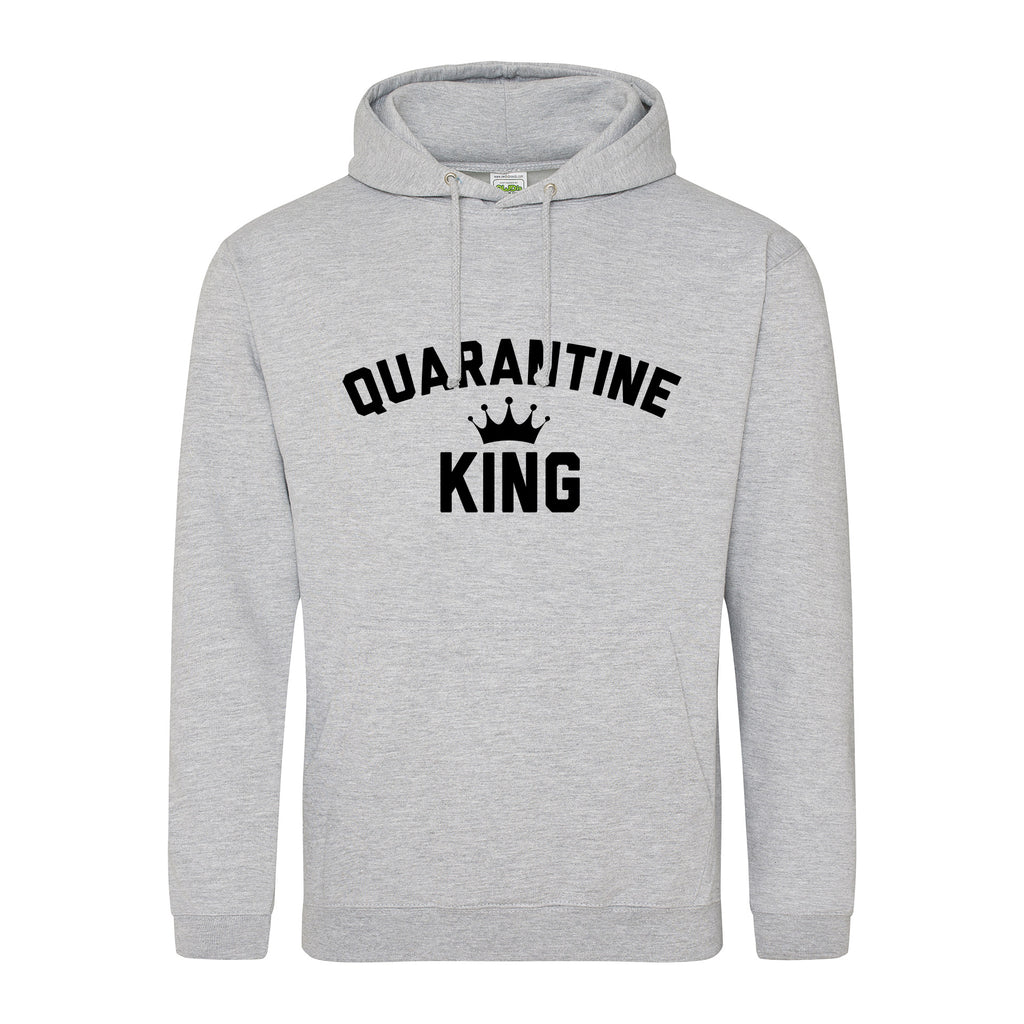 Quarantine King Classic Hoodie - TeeJunkie - T-Shirts for Good Causes