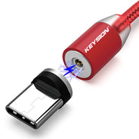 LED Magnetic Fast Charging Type C USB Cable
