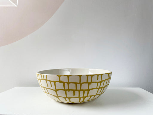 Caged Serving Bowl
