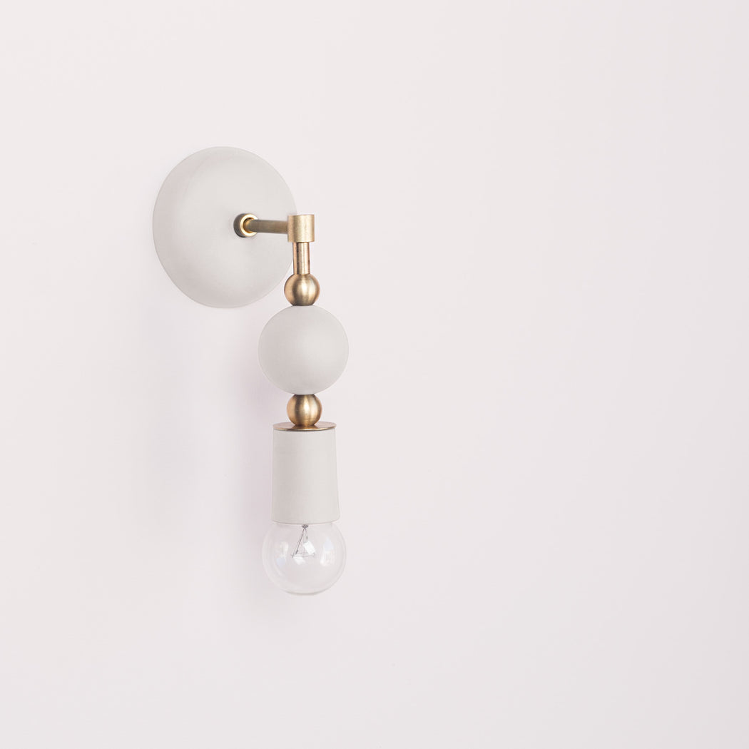 Beaded Sconce : Sphere
