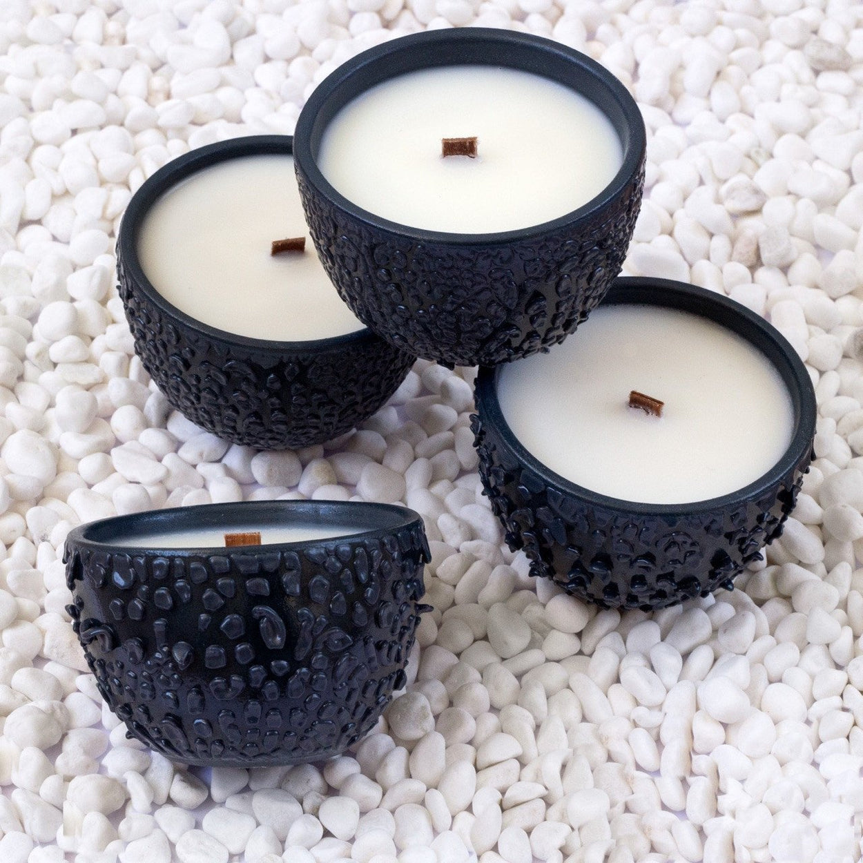 Mini Black Crawl Candles