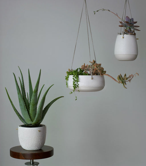 Pierced Double-Walled Planter