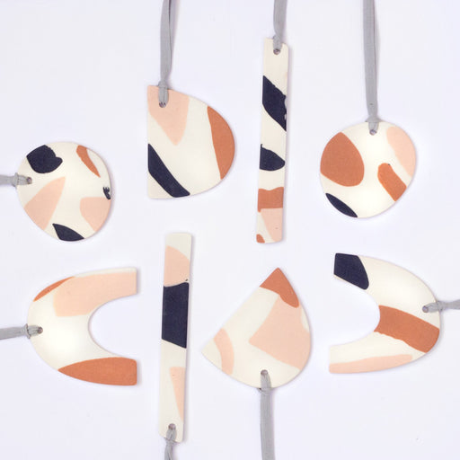 Abstract Shapes Ornaments- Discontinued Style