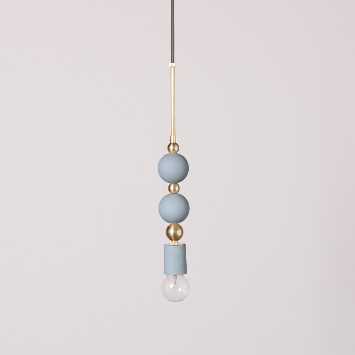 Beaded Pendant Lamp : Spheres