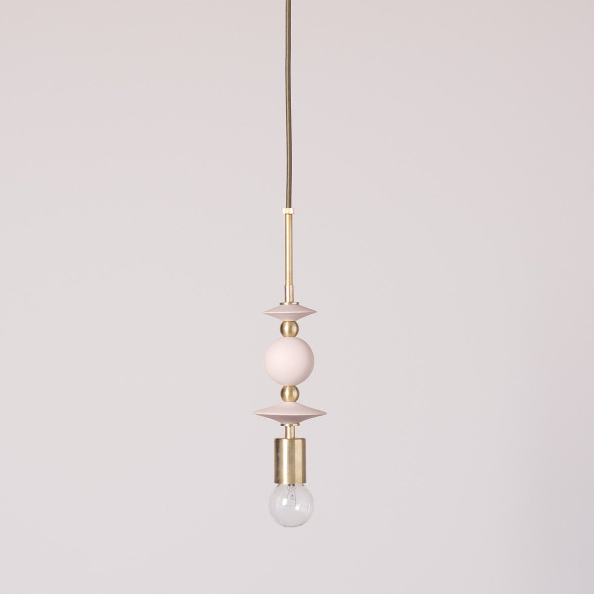 Beaded Pendant Lamp : Saucers