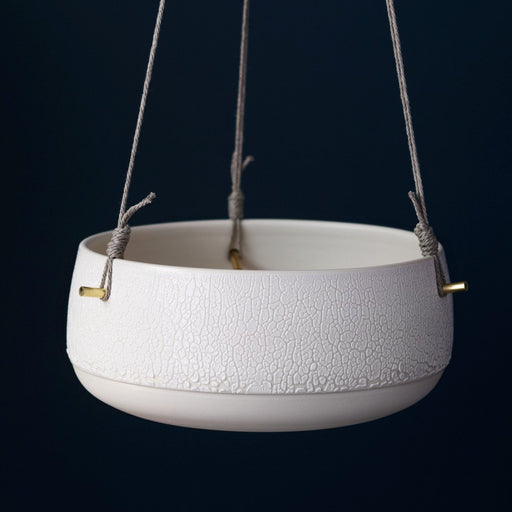 Shallow Pierced Hanging Planter