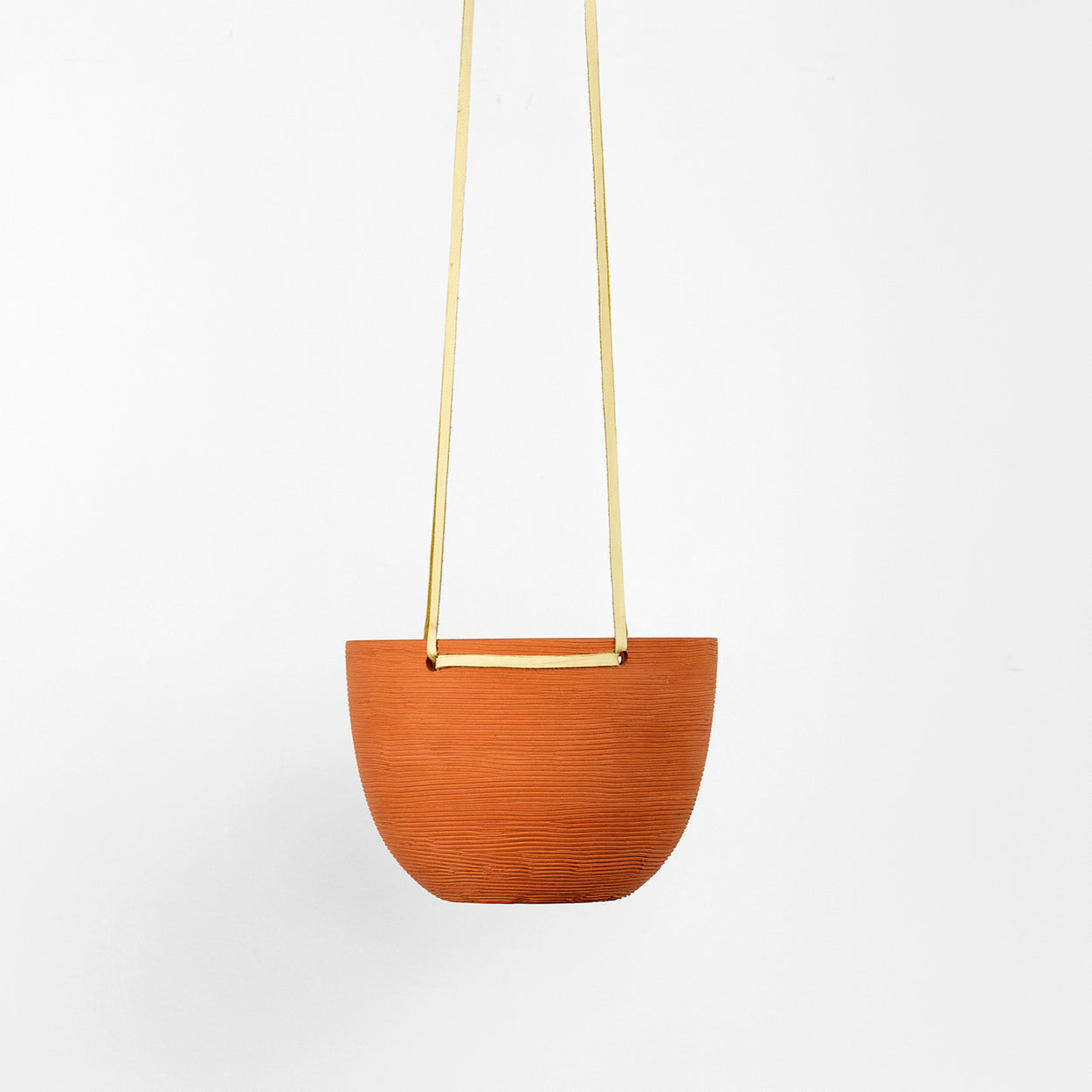 Grooved Hanging Planters