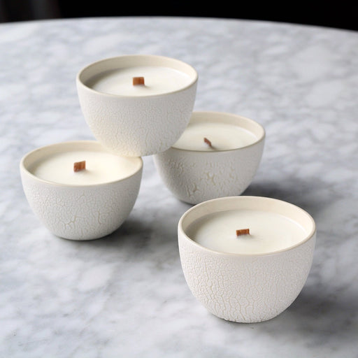 Mini White Crawl Candles