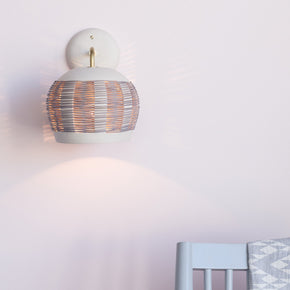 Woven Wall Sconce