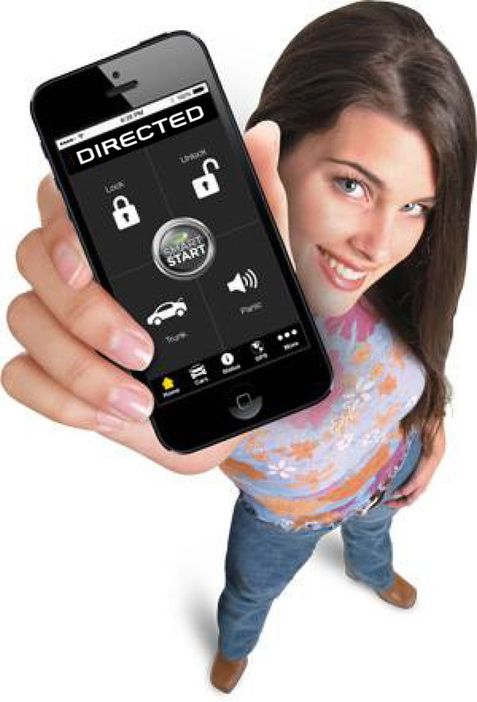 Directed's SmartStart.....Start your car from your iPhone or Android Phone!