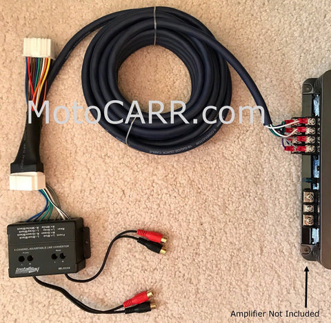 Honda Acura Factory Radio Add A 4 Channel Amplifier Plug & Play Wire Harness