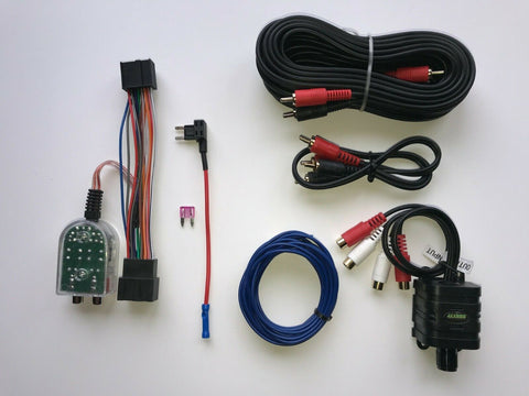 Chevy GMC Cadillac Factory Radio Add A Subwoofer Amplifier Plug & Play Harness