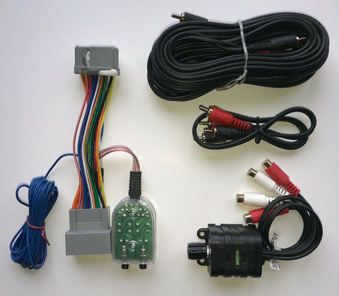Honda Acura 08+ Factory Radio Add A Subwoofer Amplifier Plug & Play Wire Harness