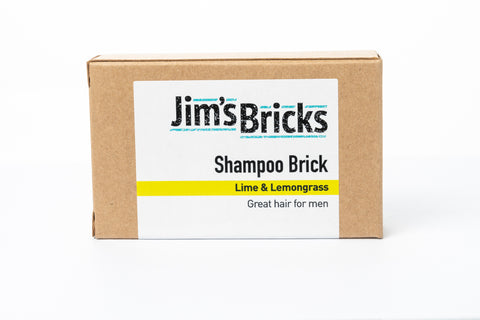 Lime and Lemongrass Shampoo Brick