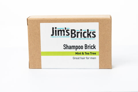Mint and Tea Tree Shampoo Brick