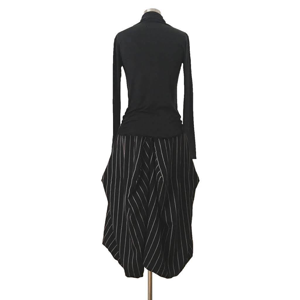 RAY SKIRT - PINSTRIPES
