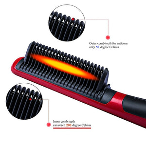 Electric Brush Instant Styling Hot Comb