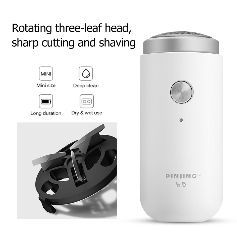 USB Rechargeable beard trimmer