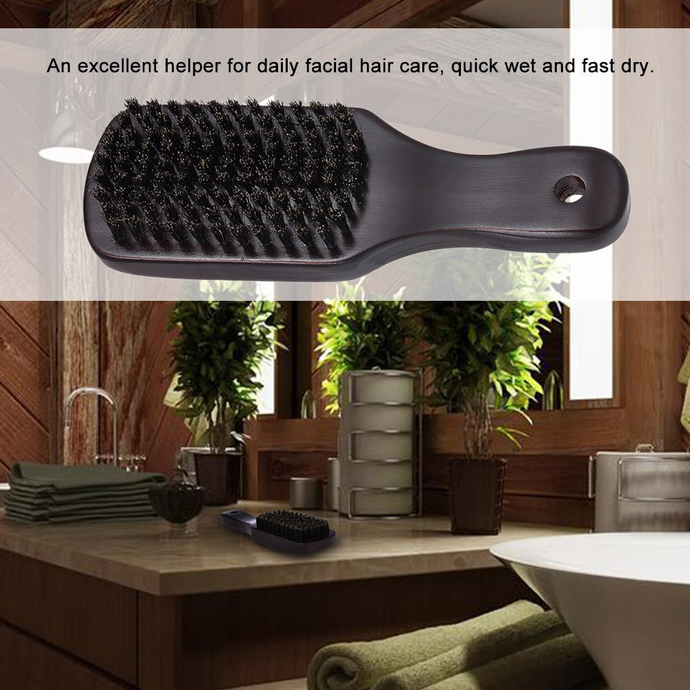 Facial Hair Brush Shaving Comb