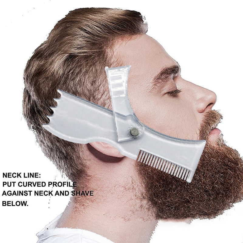 Beard Cutting Template
