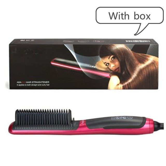 Electric Brush Instant Styling Hot Comb-1