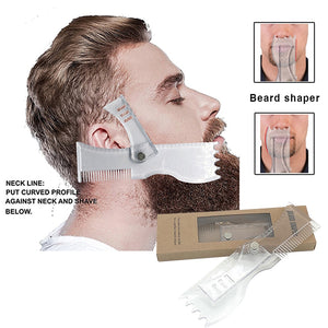 Men Beard Shaping Template Comb-1